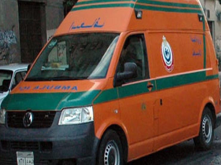 إصابة 5 في اصطدام سيارة بحاجز خرساني أعلى الطريق الإقليمي ببنها