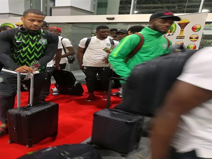 بعثة نيجيريا تصل الإسكندرية للمشاركة في أمم إفريقيا