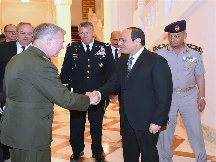 السيسي يؤكد لقائد القيادة المركزية الأمريكية أهمية العلاقات    مصراوى
