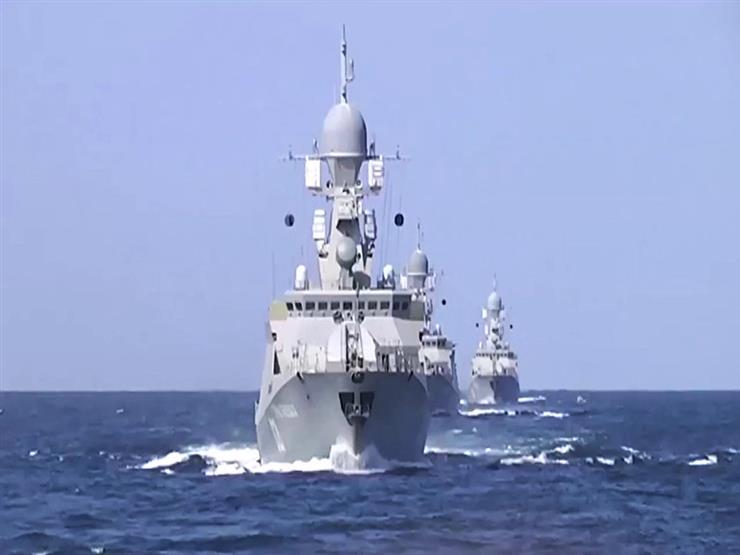 حاملة صواريخ تنضم لمجموعة القوات البحرية الروسية في المتوسط