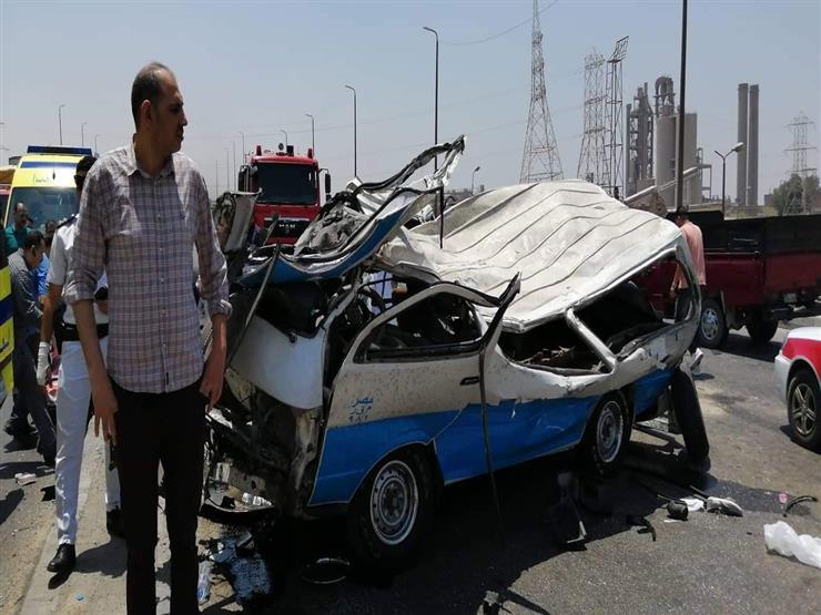 الصحة: وفاة 14 مواطنًا وإصابة 10 في حادث تصادم بالأتوستراد