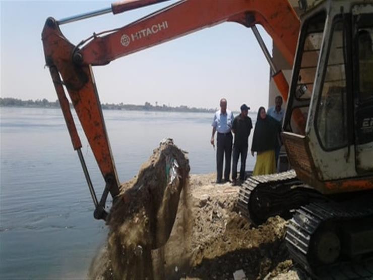 """""""الري"""": إزالة 26 حالة تعدٍ على نهر النيل في أربع محافظات"""