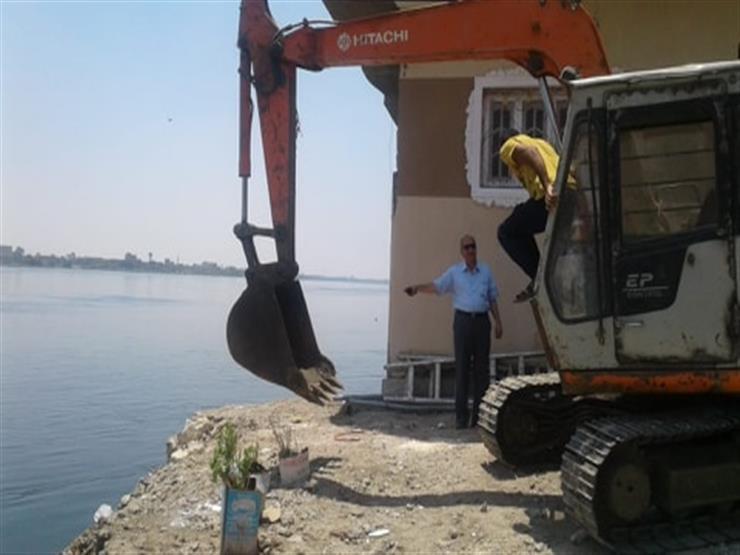 الري: إزالة 111 حالة تعدٍ على نهر النيل في تسع محافظات