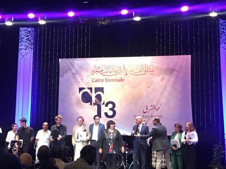 بلجيكا تتوج بجائزة النيل الكبرى.. وتفوق عربي في جوائز البينالي (صور)