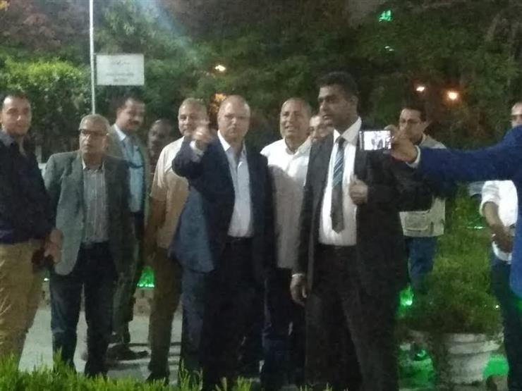جولة ليلية لمحافظ القاهرة لمتابعة استعدادات أمم أفريقيا