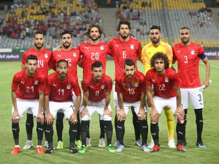 منتخب مصر ينهي معسكره ببرج العرب