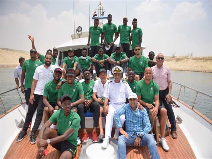 بالصور.. منتخب نيجيريا يجري جولة ترفيهية في قناة السويس      مصراوى