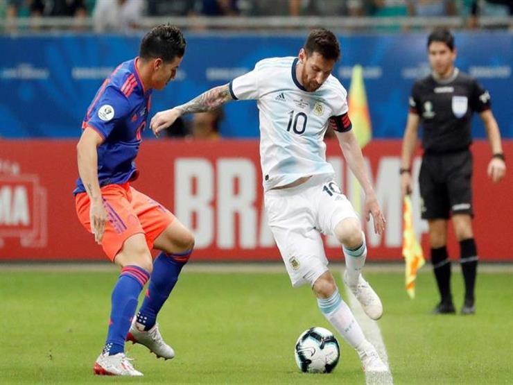 بالفيديو.. ميسي يسقط مع الأرجنتين أمام كولومبيا في كوبا أمريكا