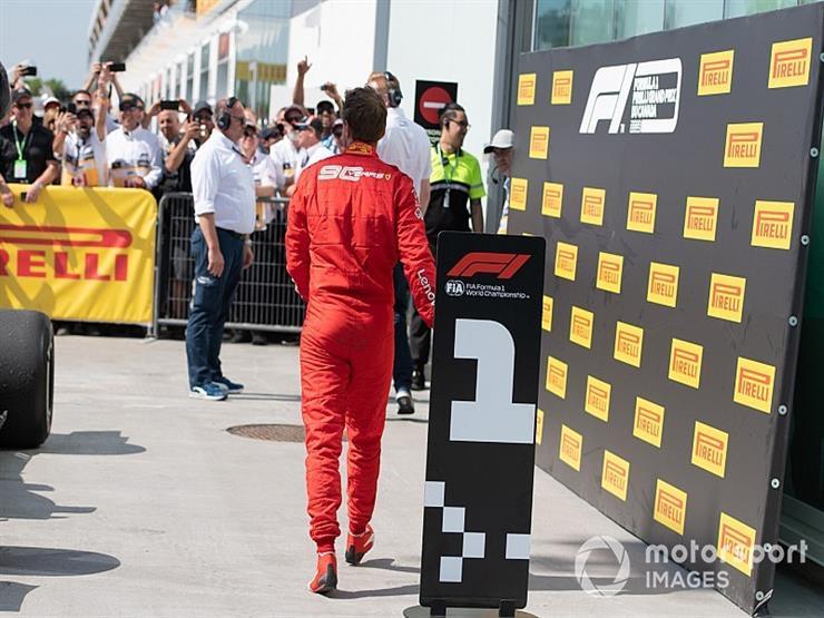 مدير فيراري : فيتيل لا يعاني من الاحباط بعد أحداث سباق فورمولا-1  الكندي