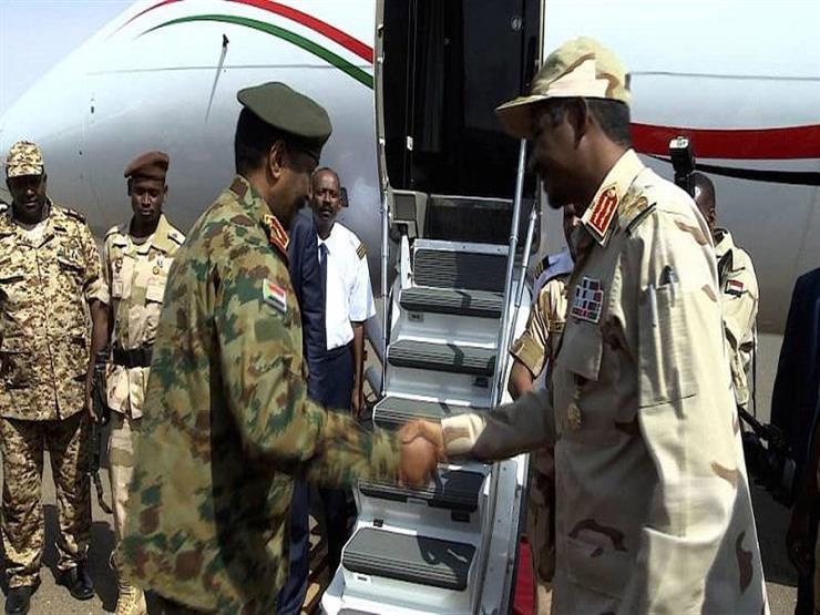 السودان: رئيس المجلس العسكري يزور تشاد