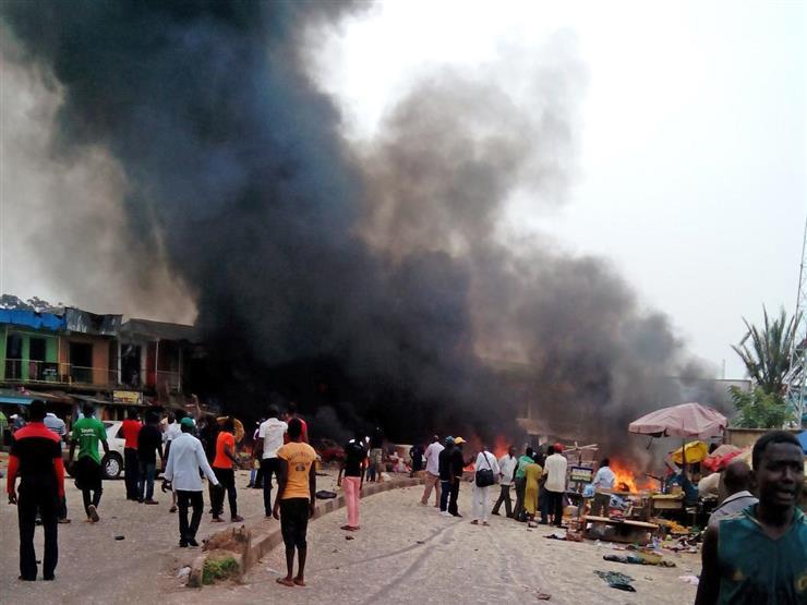 مقتل ما لايقل عن 30 شخصًا في تفجير انتحاري بشمال شرق نيجيريا