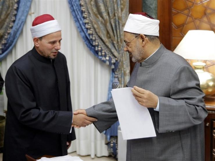شيخ الأزهر يستقبل إمام مسجد النور بنيوزيلندا