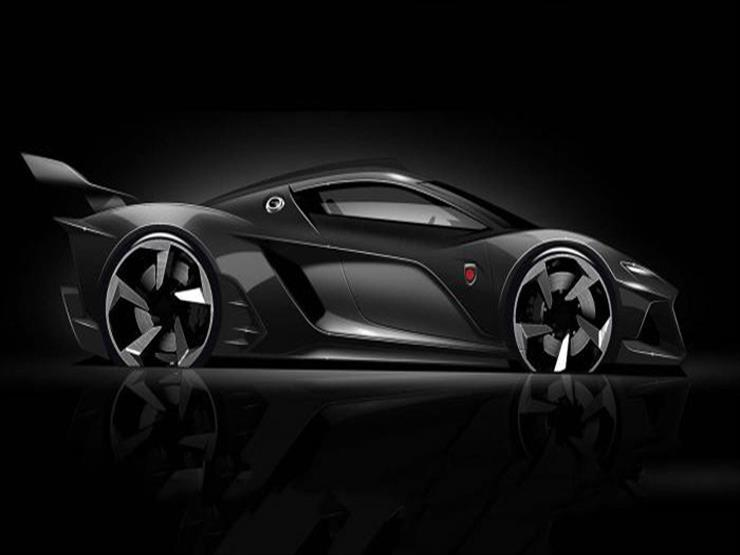 """""""جمبالا"""" تنشر صورة تشويقية لأول سيارة سوبر رياضية من إنتاجها"""