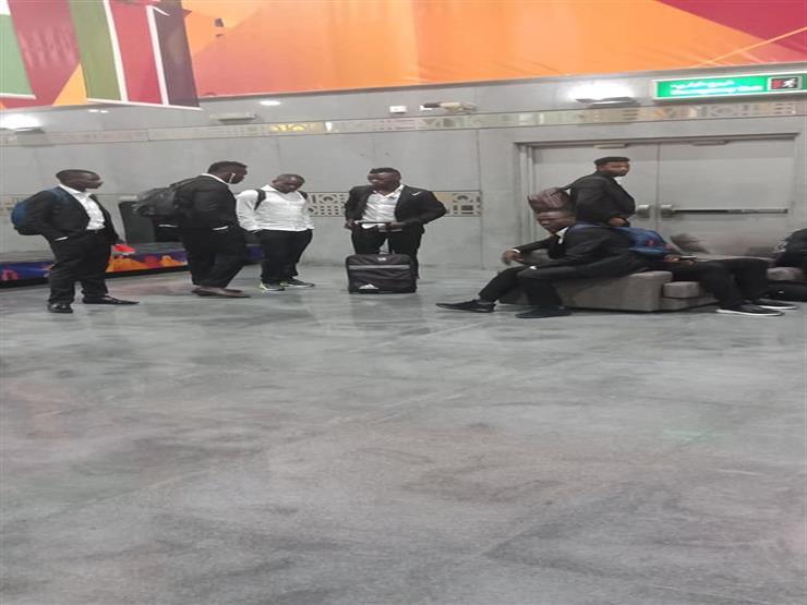 المنتخب الأوغندي يصل القاهرة للمشاركة فى أمم أفريقيا