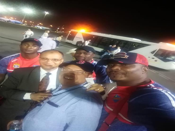 بعثة منتخب الكونغو تصل القاهرة للمشاركة في بطولة أمم أفريقيا
