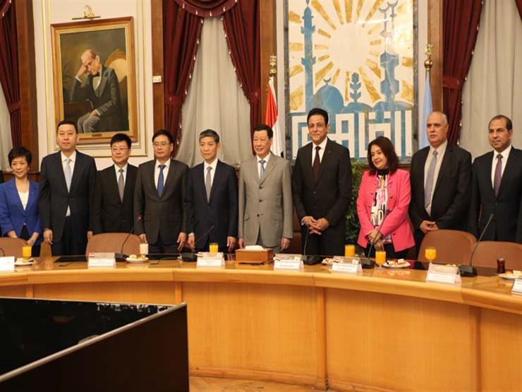 محافظة القاهرة تستقبل عمدة شنغهاي الصينية