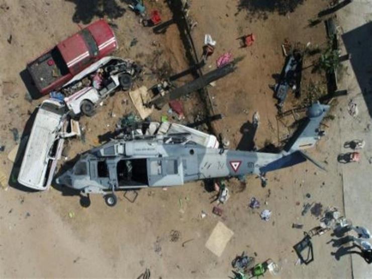 مقتل وإصابة 4 أشخاص في تحطم مروحية جنوب المكسيك