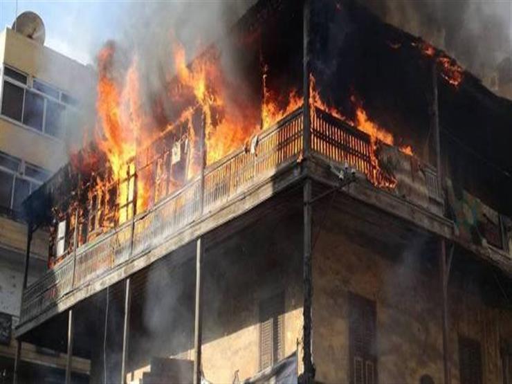 مصرع طفل إثر حريق منزل في الشرقية