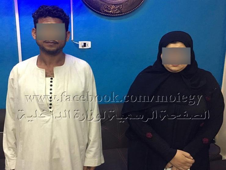 سيدة تدعي اختطافها لطلب فدية من زوجها في بني سويف