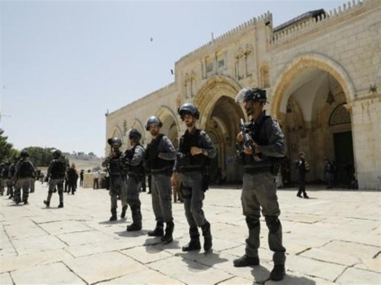 75 مستوطنا يقتحمون باحات المسجد الاقصى بعد افتتاحه أمام المصلين
