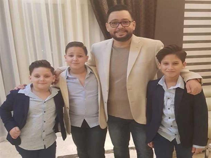"""أحمد رزق يصطحب أسرته لحضور العرض الخاص لـ""""الممر"""""""