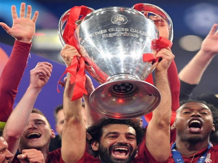 """صلاح حقق حلمه.. بالفيديو: ليفربول يحتفل بالذكرى الأولى لـ""""السادسة"""""""