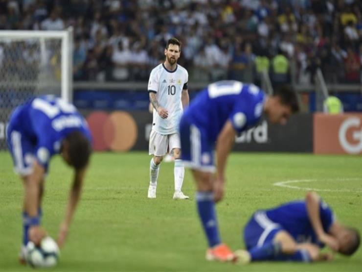 لحظة بلحظة.. كوبا أمريكا.. الأرجنتين 1 - 1 باراجواي ..ميسي يٍُسجل