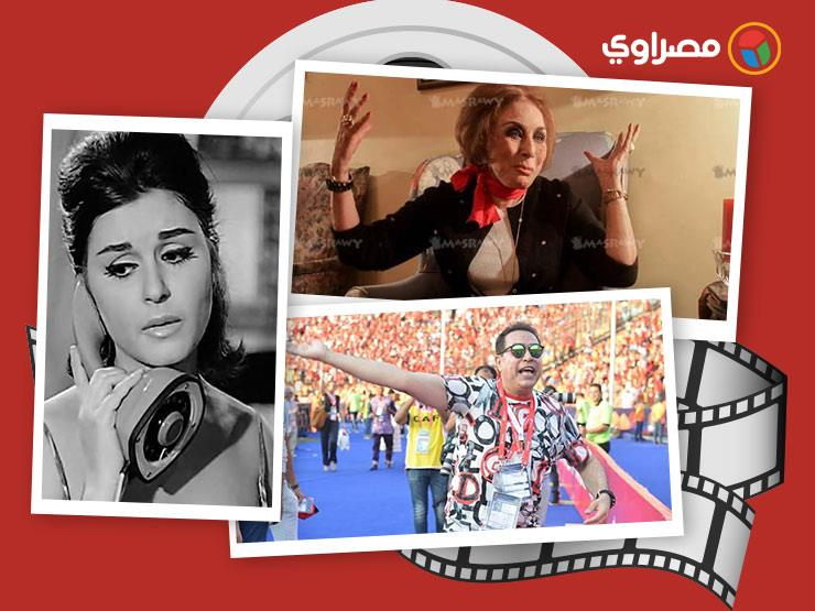 النشرة الفنية| ياسمين صبري تدافع عن نفسها.. و10 فنانات بملابس المنتخب