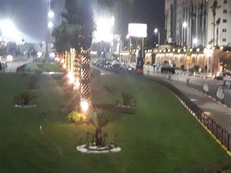 صور-  مصر جميلة .. لوحة فنية بمحيط ستاد القاهرة قبل أمم أفري   مصراوى