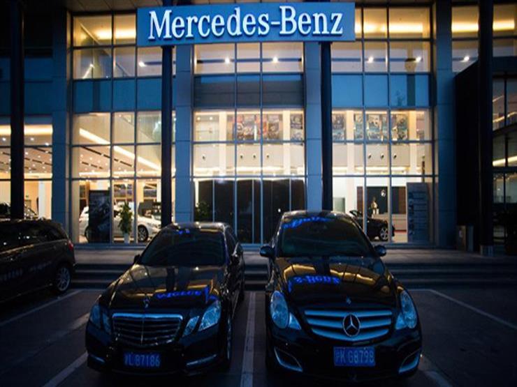 مرسيدس تؤكد استدعاء 60 ألف سيارة من طراز واحد لهذا السبب