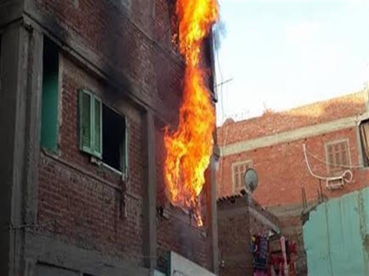 السيطرة على حريق في 3 منازل بسوهاج
