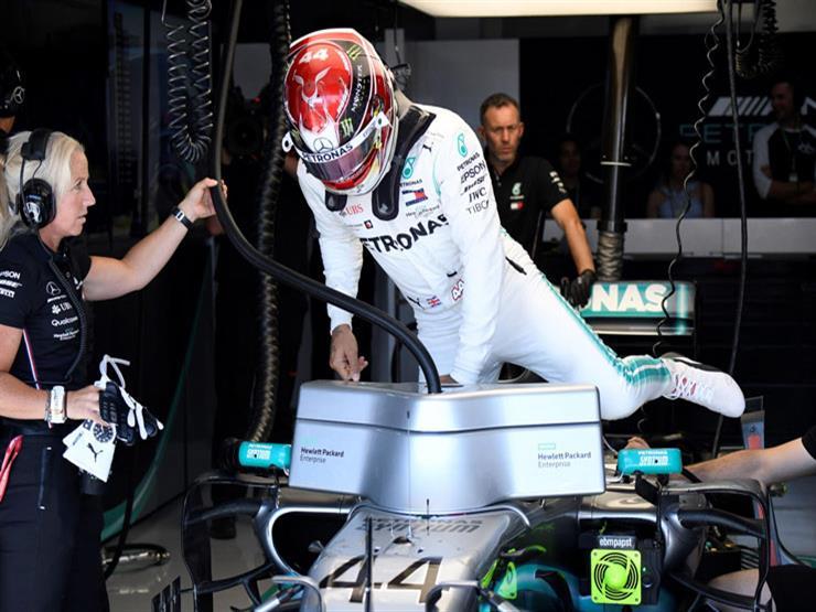"""سيطرة """"مرسيدس"""" تتواصل.. هاميلتون يتوج بطلًا لفورمولا-1 الفرنسي"""
