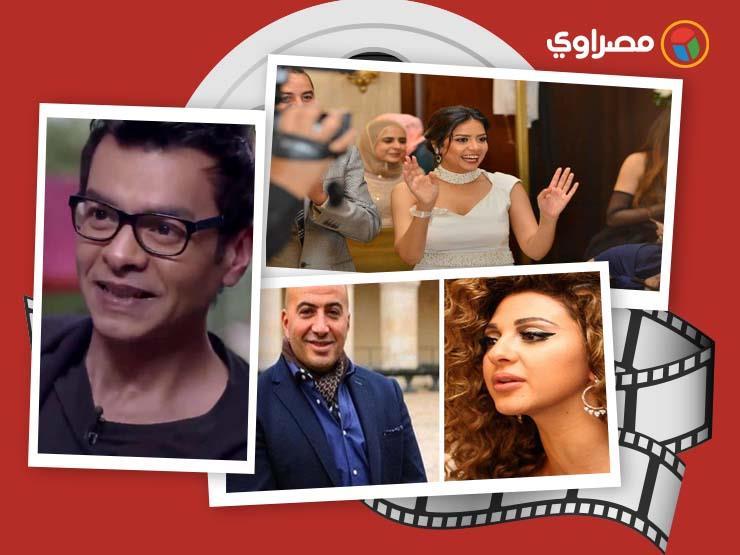 النشرة الفنية| خالد الصاوي يرقص وأفراح في منزل سهر الصايغ ووفاة والدة دراين حداد