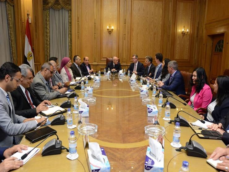اتفاق تعاون لتدوير المخلفات بين الإنتاج الحربي ومبعوث رئيس وزراء بريطانيا