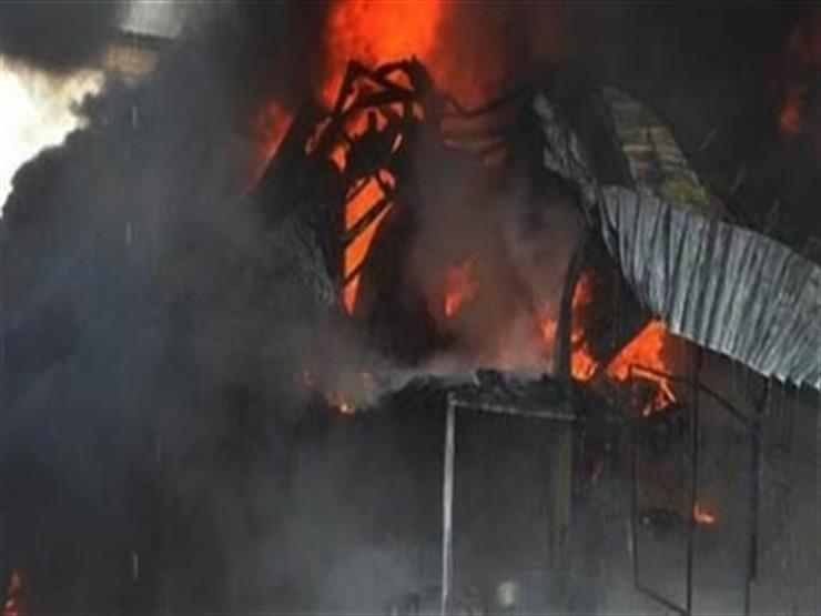 عامل يشعل النيران في حظيرة شقيقه بالقليوبية