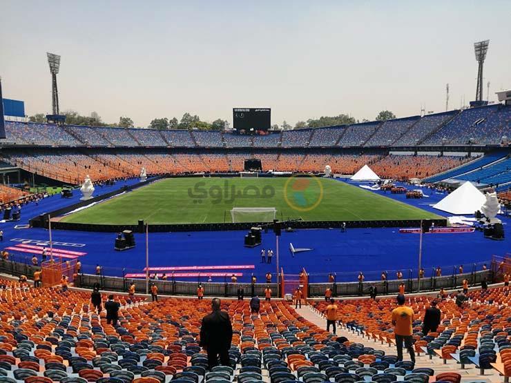 تعرف على تفاصيل دخول استاد القاهرة والممنوع والمحظور لحضور مباراة مصر وجنوب أفريقيا