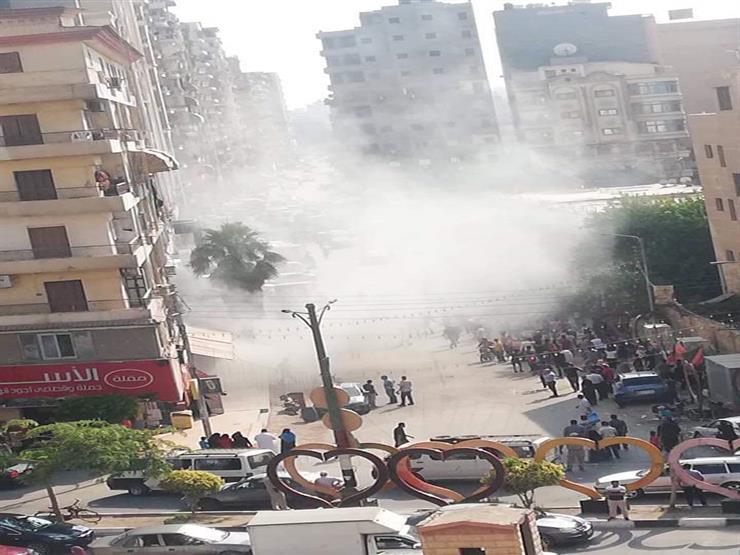 بعد أسبوع من افتتاحه.. حريق في مول شهير بالمنصورة وإصابة 13 مواطنًا