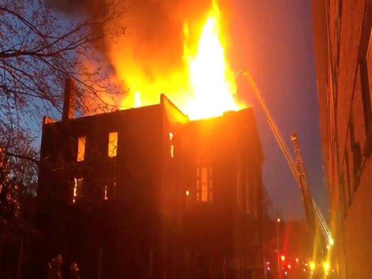 السيطرة على حريق التهم محتويات منزل في الدقهلية
