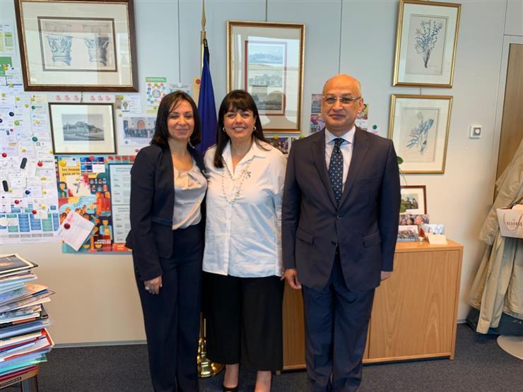 """رئيس """"القومي للمرأة"""" تزور مؤسسات الاتحاد الأوروبي في بروكسل"""