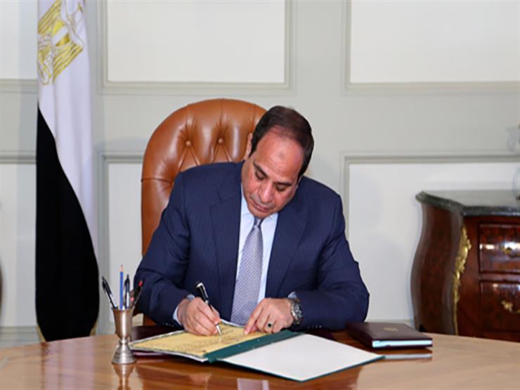  السيسي يوافق على قانون خطة التنمية الاقتصادية بمعدل نمو 6%