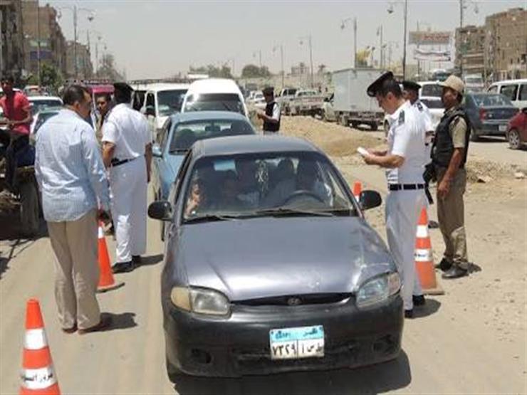 """خلال حملة الـ 10 أيام.. """"الرادارات"""" تلتقط 480 ألف مخالفة بالمحافظات"""