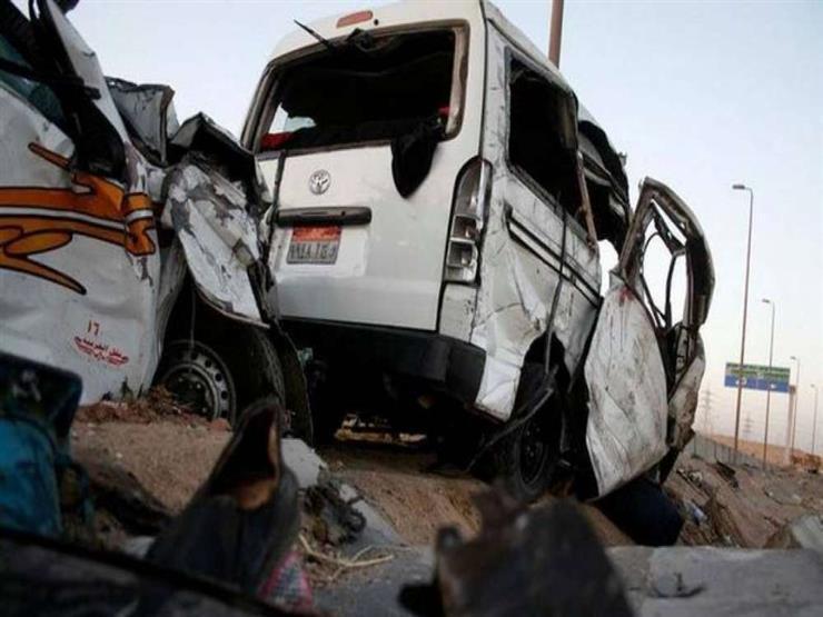 مصرع شخص وإصابة آخر في حادث تصادم ببني سويف