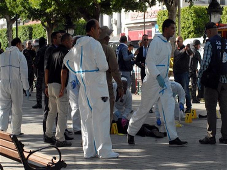 تشييع جثمان العنصر الأمني ضحية التفجير الإرهابي في تونس