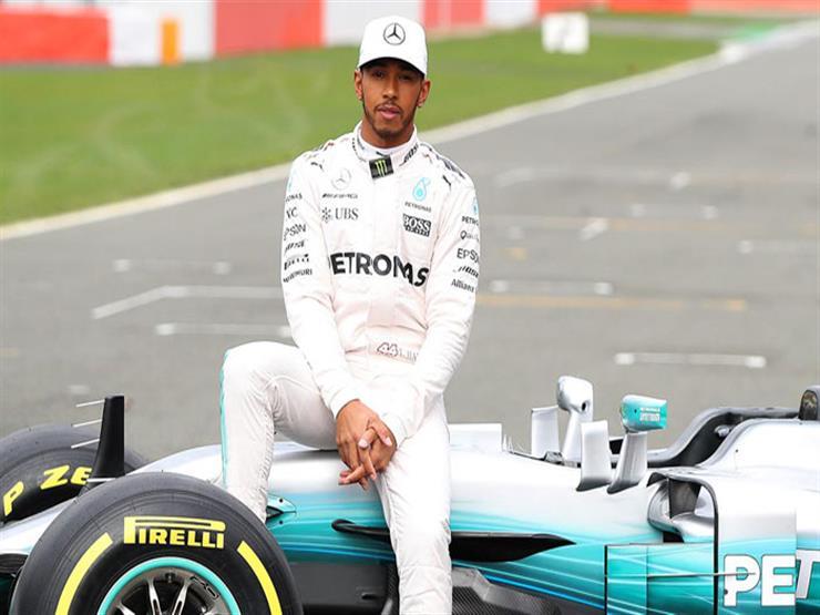 """""""هاميلتون""""  يتفوق على """"فيتيل"""" في التجربة الحرة الأولى لفورمولا-1 النمساوي"""
