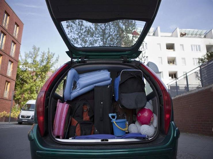 """ما الطريقة الآمنة لترتيب حقائب السفر بالسيارة؟ """"الهيئة الألمانية تجيب"""""""
