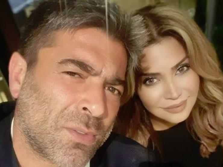 بعد نفي رغبتها في الزواج منه .. نوال الزغبي مع وائل كفوري