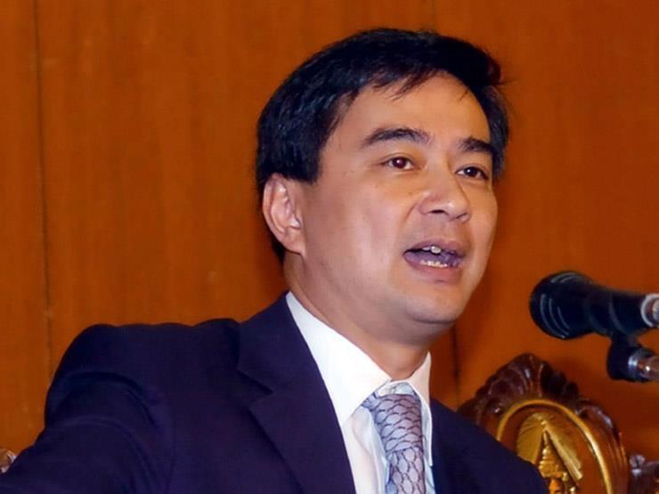 رئيس وزراء تايلاند السابق ابهيسيت فيجاجيفا يستقيل من البرلمان