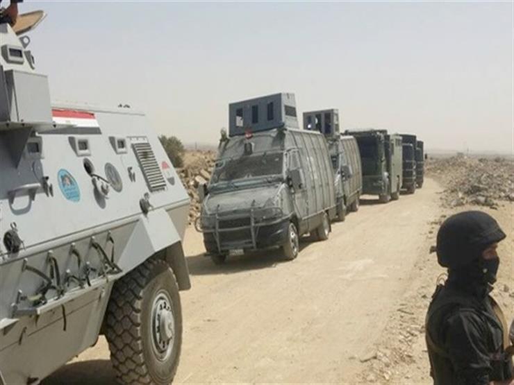 الداخلية: استشهاد ضابط و7 أفراد في هجوم إرهابي على كمين بالعريش