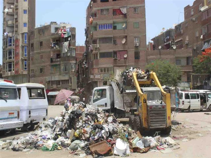 وزارة التنمية المحلية: رفع مخلفات الطريق بالمعصرة