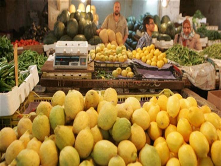 سعر الليمون يقفز في سوق الجملة.. تعرف على أسعار الخضر والفاكهة اليوم